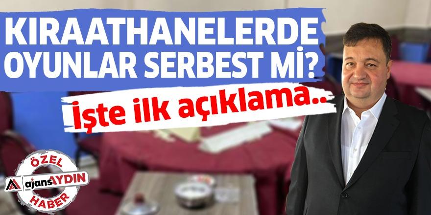 KIRAATHANELERDE OYUNLAR SERBEST Mİ?