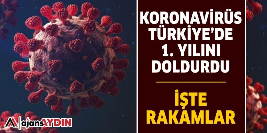 KORONAVİRÜS TÜRKİYE'DE 1. YILINI DOLDURDU