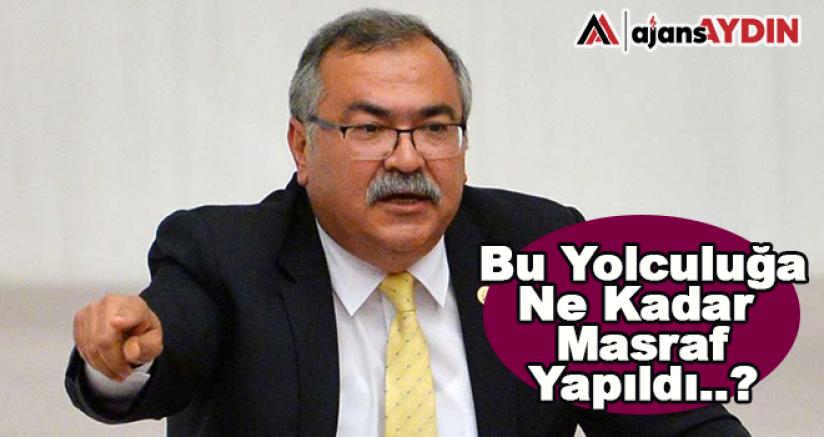 """CHP'Lİ BÜLBÜL'DEN """"CİBUTİ"""" SORULARI"""