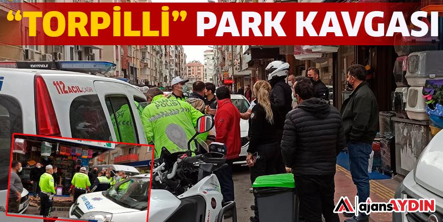 """""""TORPİLLİ"""" PARK KAVGASI"""