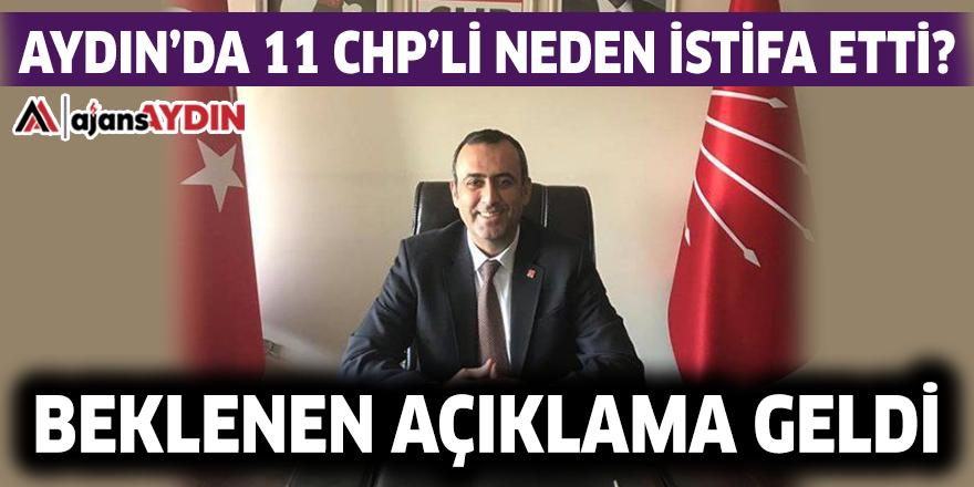 AYDIN'DA 11 CHP'Lİ NEDEN İSTİFA ETTİ?