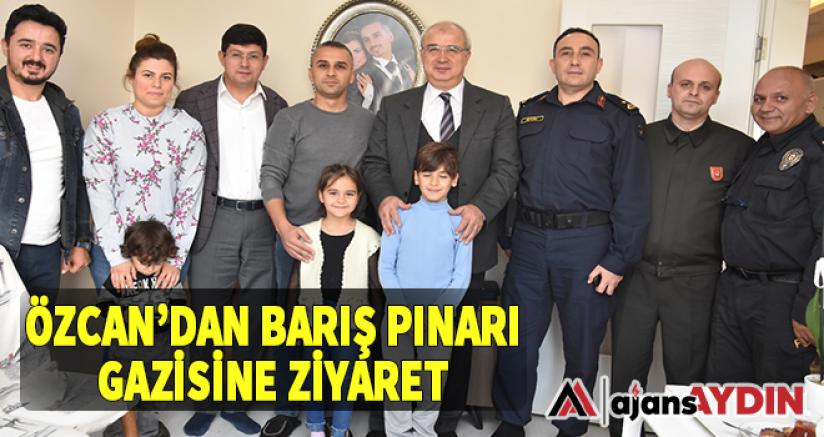 Özcan'dan Barış Pınarı Gazisine Ziyaret