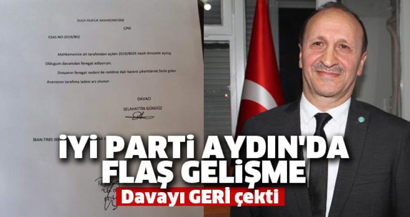 İYİ Parti Aydın'da Flaş Gelişme