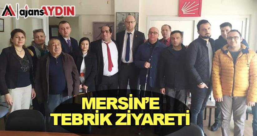 Mersin'e Tebrik Ziyareti