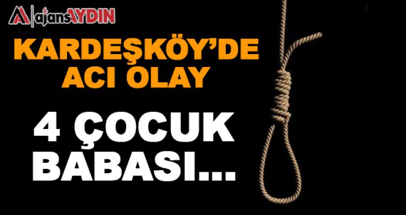 Kardeşköy'de acı olay