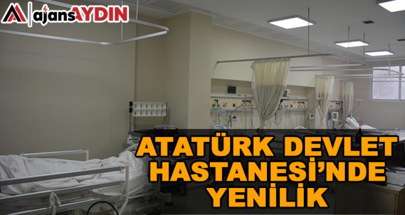 Atatürk Devlet Hastanesi'nde yenilik