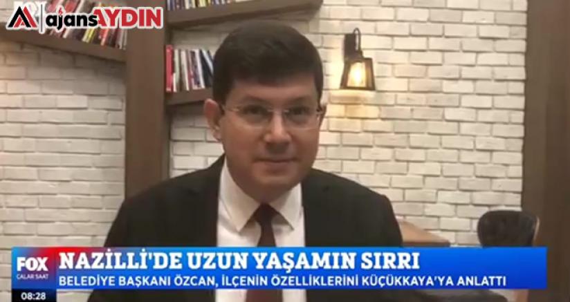 Özcan'dan Nazilli ve Uzun Yaşam açıklaması