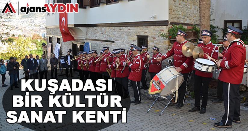 73 Yıllık Kuşadası Belediye bandosunun tarihi sergileniyor