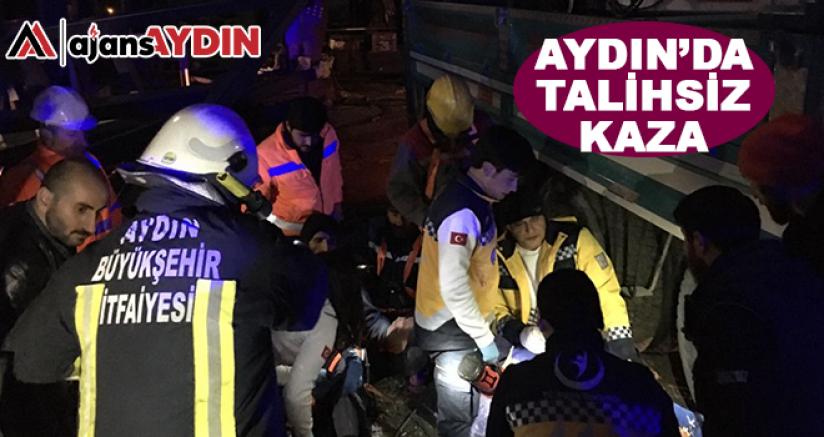 Aydın'da talihsiz kaza